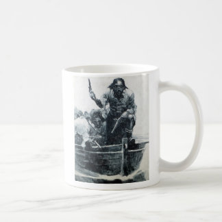 Blackbeard Approaching Coffee Mug