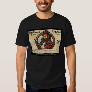 Blackbeard Brand Rugged Tampons T Shirt