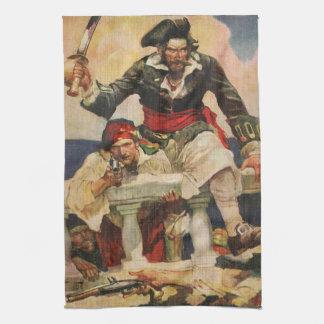 Blackbeard el Buccanneer Toalla