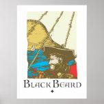 Blackbeard el pirata posters