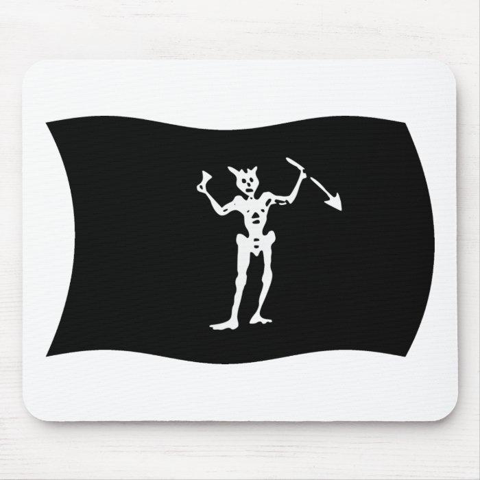 Blackbeard Flag Mousepad