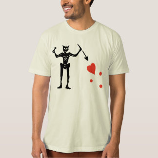 Blackbeard Flag Organic Shirt