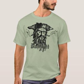 Blackbeard la camiseta del pirata