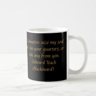 Blackbeard Pirate Coffee Mug