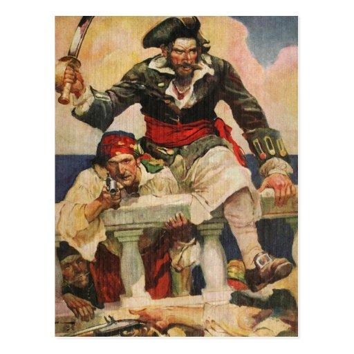 Blackbeard the Buccanneer Postcards