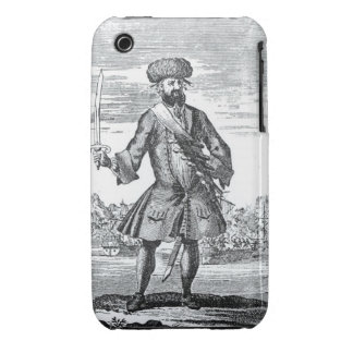 Blackbeard the Pirate, from 'A General History of iPhone 3 Cover