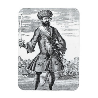 Blackbeard the Pirate, from 'A General History of Rectangle Magnets