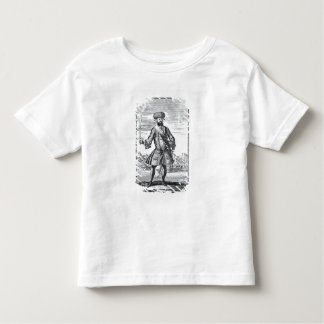 Blackbeard the Pirate, from 'A General History of Toddler T-shirt