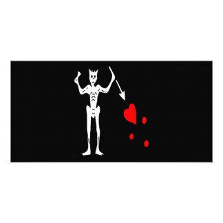 Blackbeard-White Card