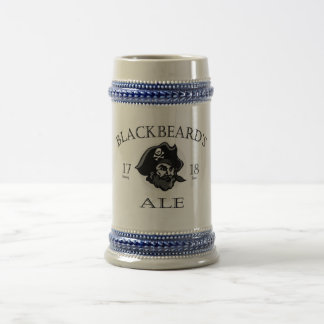 Blackbeard's Ale 18 Oz Beer Stein