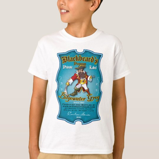 Blackbeard's Bilgewater Grog T-Shirt