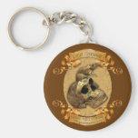 Blackbeards Crew Basic Round Button Keychain