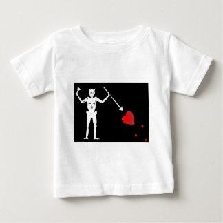 BlackBeards Flag (Edward Teach) Baby T-Shirt