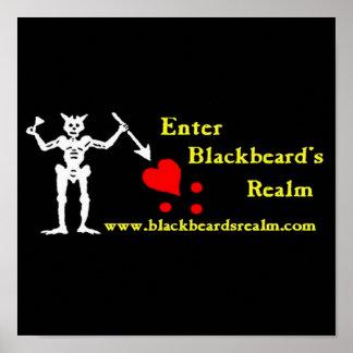 Blackbeard's Realm Poster