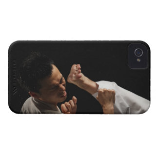 Blackbelt Being Kicked in the Head Case-Mate iPhone 4 Case