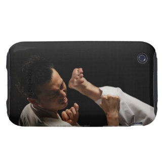 Blackbelt Being Kicked in the Head Tough iPhone 3 Cover