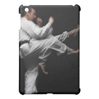 Blackbelt Doing a Front Kick iPad Mini Case