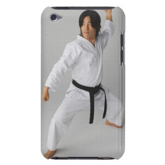 Blackbelt In An At Ready Stance Barely There iPod Cover