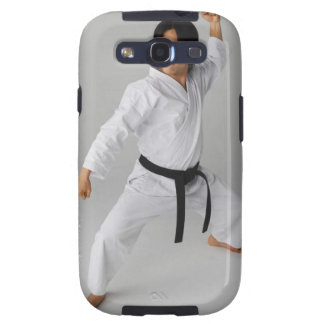 Blackbelt In An At Ready Stance Galaxy S3 Covers
