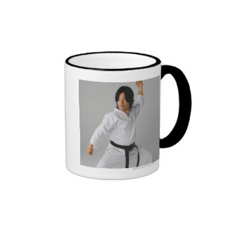 Blackbelt In An At Ready Stance Coffee Mugs