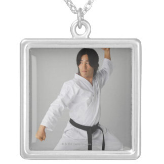 Blackbelt In An At Ready Stance Jewelry