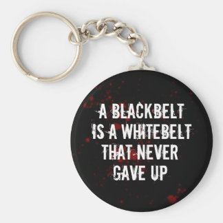Blackbelt Llavero Redondo Tipo Pin