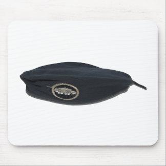 BlackBeretSequinTank102111 Mouse Pad