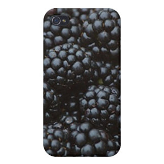 Blackberries, A Summertime Fruit iPhone 4/4S Covers
