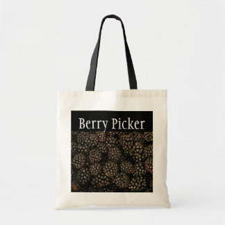 "Blackberries ""Berry Picker"" Tote Bag"