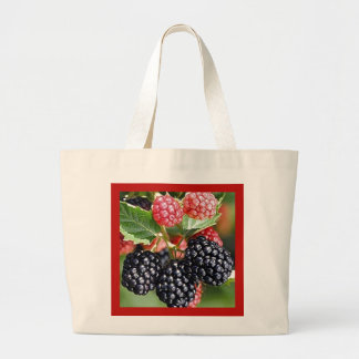BLACKBERRIES Eco-Friendly Grocery Tote Tote Bags