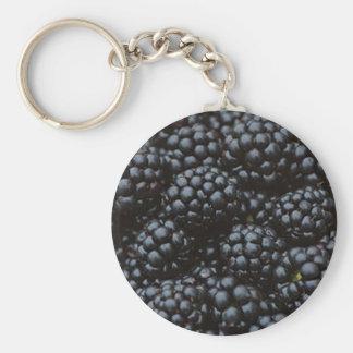 Blackberries Keychain