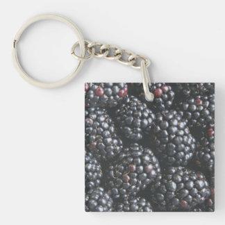 Blackberries Key Chain