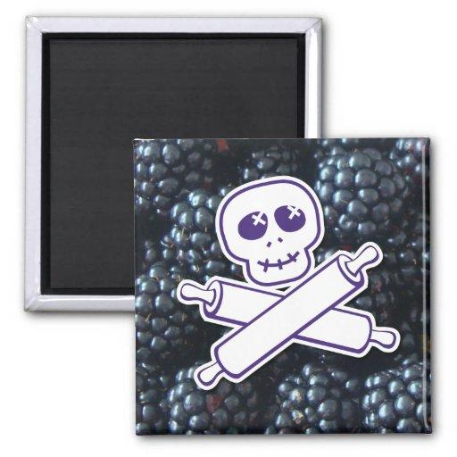 Blackberries Logo Magnet