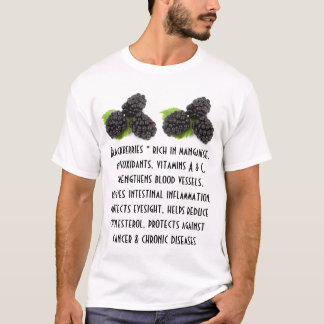 Blackberries mens shirt