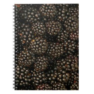 Blackberries Notebook