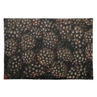 Blackberries Placemat Cloth Place Mat