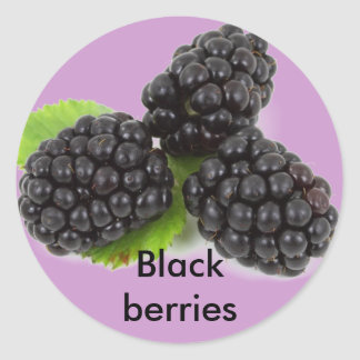 Blackberries stickers