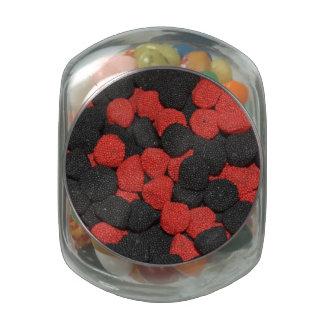 Blackberry and Rasberry Jelly Bean Jar Jelly Belly Candy Jar