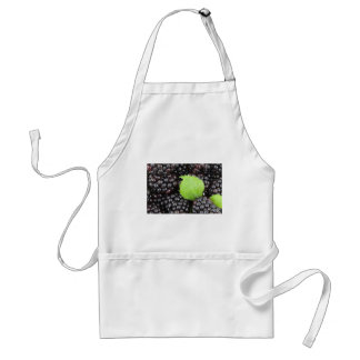 BlackBerry Background Adult Apron