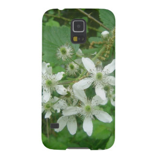 Blackberry Blossoms Case For Galaxy S5