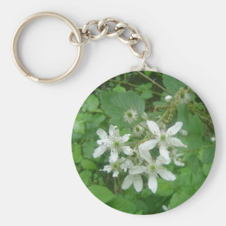 Blackberry Blossoms Keychains