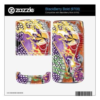 BlackBerry Bold 9700 Dragon Of The Lotus Vinyl Ski BlackBerry Bold Skins