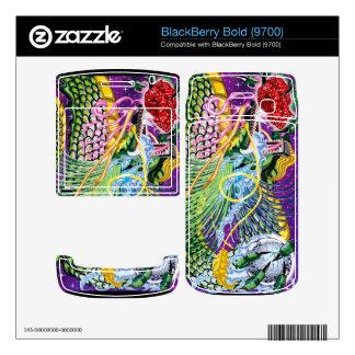 BlackBerry Bold 9700 Dragon Of The Rose Vinyl Skin Skins For BlackBerry
