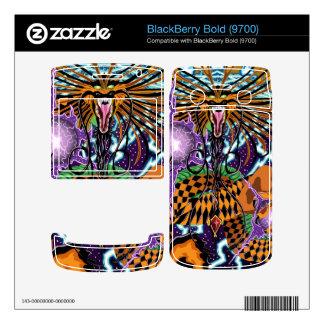 BlackBerry Bold 9700 Halloween Dragon Vinyl Skins Skin For BlackBerry