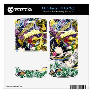 BlackBerry Bold 9700 Kiss Of The Dragon Vinyl Skin BlackBerry Bold 9700 Skin