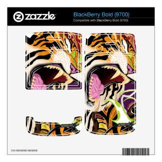 BlackBerry Bold 9700 Tiger Vinyl Skins BlackBerry Bold 9700 Skin