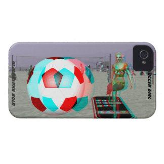 BlackBerry Bold Beach 3D Soccer Girl Case Case-Mate iPhone 4 Cases