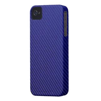 Blackberry Bold Case - Carbon Fiber - Blue