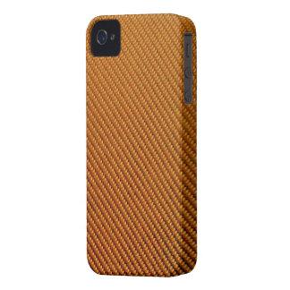 Blackberry Bold Case - Carbon Fiber - Orange
