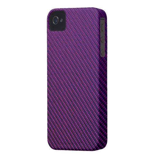 Blackberry Bold Case - Carbon Fiber - Purple